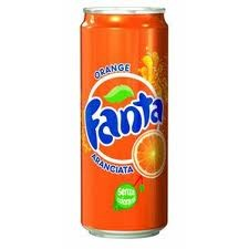 12 lattine FANTA da 0,33 litri