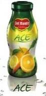 6 bottiglie SUCCO DEL MONTE ACE da 0,20 litri