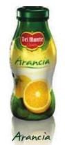 6 bottiglie SUCCO DEL MONTE ARANCIA da 0,20 litri