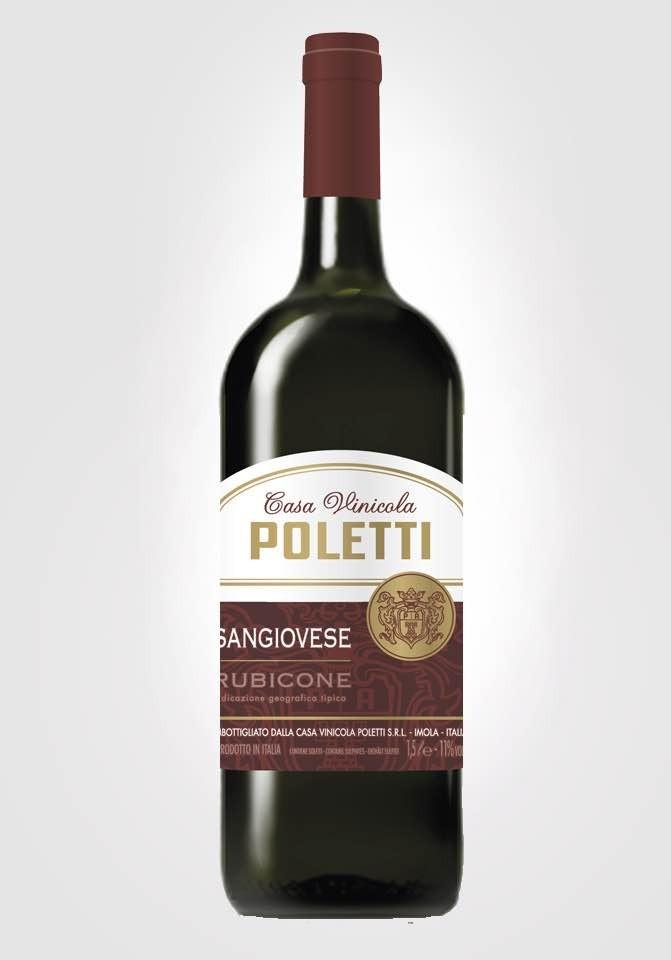 6 bot Poletti Sangiovese rubicone igt 1,5 lt