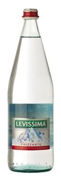 12 bottiglie ACQUA LEVISSIMA FRIZZANTE 1 litro