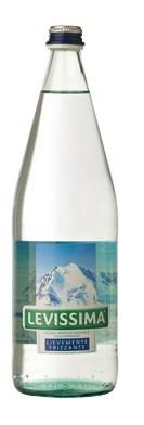12 bottiglie ACQUA LEVISSIMA LEGGERMENTE FRIZZANTE 1 litro