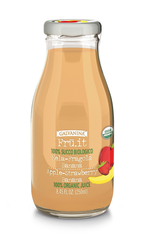 GALVANINA succo biologico FRU.IT mela-fragola-banana