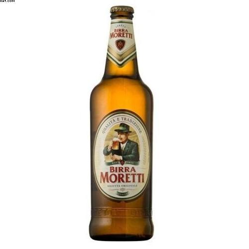 1 bottiglia BIRRA MORETTI CHIARA 0,66 litri