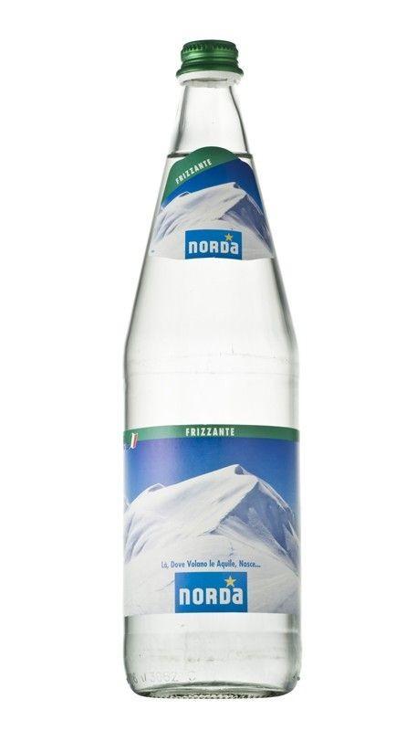 12 bottiglie ACQUA NORDA DAGGIO FRIZZANTE 1 litro
