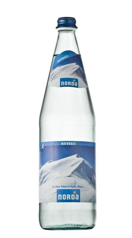 12 bottiglie ACQUA NORDA DAGGIO NATURALE 1 litro