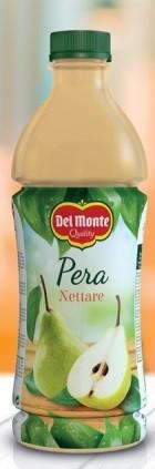 6 bottiglie SUCCO DEL MONTE PERA da 1 litro PET