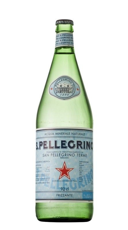 12 bottiglie ACQUA SANPELLEGRINO FRIZZANTE 1 litro