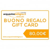 Gift Card - 80 Euro