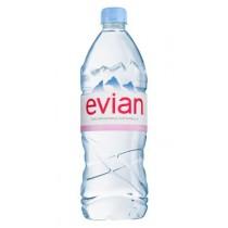 6 bottiglie ACQUA NATURALE EVIAN 1 litro