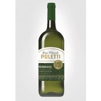 6 bottiglie Poletti Trebbiano rubicone igt 1,5 lt