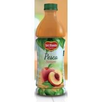 6 bottiglie SUCCO DEL MONTE PESCA da 1 litro PET